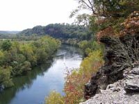 Cumberland River from Rockhouse Bottom
