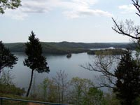 Dale Hollow Lake from State Park Lodge