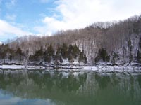 Dale Hollow Lake in Winter